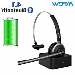 Mpow For Truck Driver Noise Cancelling Wireless Headphones M