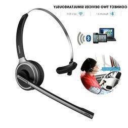 Mpow Trucker Bluetooth Headset for Driver Wireless Earpiece