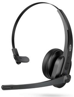 TaoTronics Trucker Bluetooth Headset with Microphone, Wirele