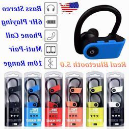 TWS Bluetooth Wireless Stereo Earphone Earbuds Sport Headset