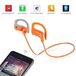 Universal Bluetooth 4.1 Wireless Headset Headphone Sport Gym