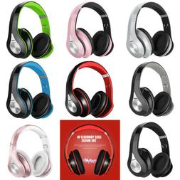 Mpow Universal Headphones Over Ear Wireless Headset Earphone