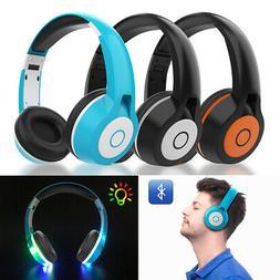Variours Wireless Headphone Bluetooth Headset Noise Cancelli