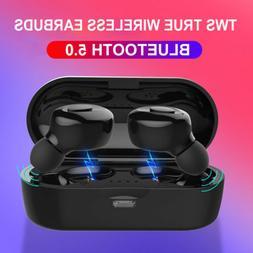 US Bluetooth 5.0 Headset TWS Wireless Earphones Earbuds Ster