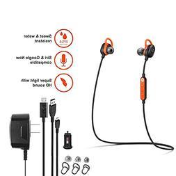 Motorola VerveLoop -HD- Wireless Stereo Earbuds Sweat & Wate