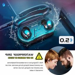 Waterproof Touch Mini True Bluetooth 5.0 Earbuds Wireless He