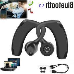 Waterproof Wireless Earbuds Bluetooth V5.0 Headphone Sport E