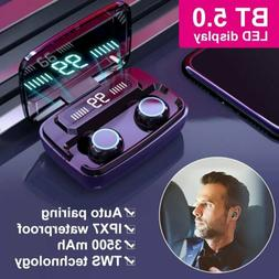 Mpow Wireless Bluetooth 5.0 Earbuds Headsets TWS Earphones 8