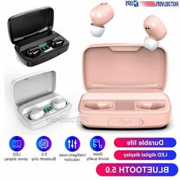 Wireless Bluetooth 5.0 Earphone Earbuds Sports Headsets In-E
