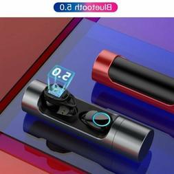 Wireless Bluetooth 5.0 Headset Headphones Sport  Earbuds Wat