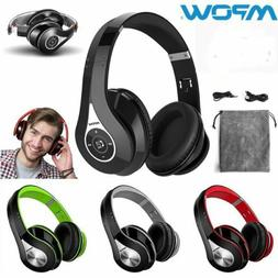 Mpow Wireless Bluetooth Foldable Headset Stereo Headphones S