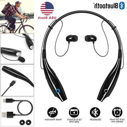 Wireless Bluetooth Headphones Headset Stereo Earphone Neckba