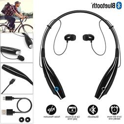 Stereo Wireless Bluetooth Headphone Headset Mic Earphones Ne