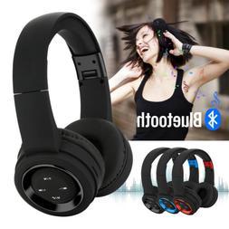 Wireless Bluetooth Headphones Over Ear HiFi Stereo Headset F