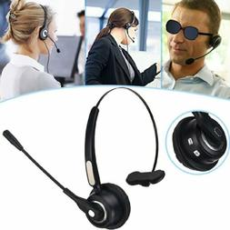 Wireless Bluetooth Headset Call Center Meeting Laptop Headph