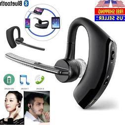 Wireless Bluetooth Headset Handsfree Earpiece Earbud Mic Wit