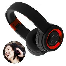 Wireless Bluetooth Headsets Foldable Music Headphones Stereo