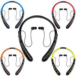 Wireless Bluetooth Stereo Headset Earphone Headphone Long Ba