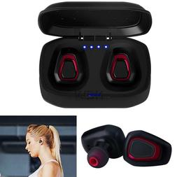 Wireless Bluetooth Stereo Headset Mini True HIFI Sport Earbu