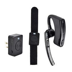 NAGOYA Wireless Bluetooth Two-Way Radio Earpiece Headset wit