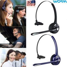 MPOW Wireless Business Bluetooth Headset Headphone Handsfree