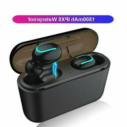 Wireless Earbuds TWS Mini True Bluetooth 5.0 Stereo Earphone