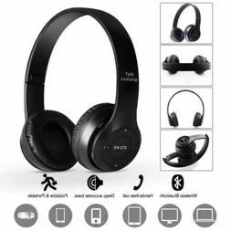 Wireless Game Bluetooth Sports Headphones Microphone Stereo