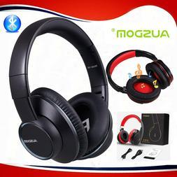 AUSDOM Wireless Headphones Bluetooth Stereo Earphones Super