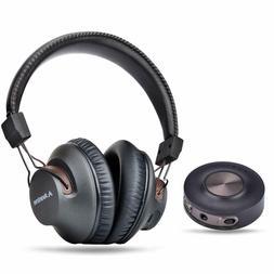 Wireless Headphones for TV Computer w/Bluetooth Transmitter