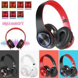Wireless Headphones Super Bass Bluetooth Foldable Stereo Ear