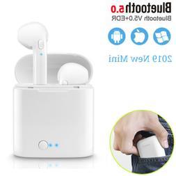 Wireless Headset Bluetooth Earphones Earbuds For iPhone X 6