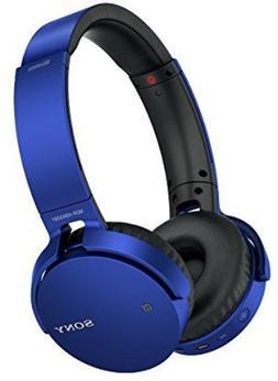Sony XB650BT Extra Bass Bluetooth Headphones - Stereo - Blue
